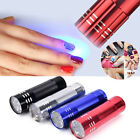 9 Led UV LED Nail Dryer Protable Curing Machine For UV Gel Lamp Nail Polish 2Y for sale  Canada