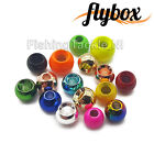 Flybox 'Brass Hotheads' Fly Tying Beads - All Sizes for Lure & Nymph Flies
