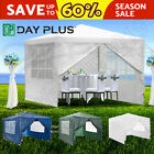 Gazebo Marquee Awning Canopy Removable Sides Camping Festival Shelter Tarpaulin