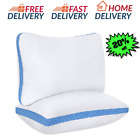 Queen Size Serta Cool 2 Set Slumber Pillow Comfort Sleep Hypoallergenic Bed image