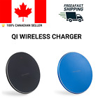 Qi Wireless Charger Fast Charging Pad For iPhone 8 X S XR Samsung LG G7 G8