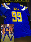 NEW Joey Bosa Chargers Men's Electric Blue Home Rush Style Alternate Jersey $69.88 USD on eBay
