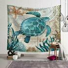 Bohemian Sea Life Printed Tapestry Wall Hanging Bedspread Beach Shawl Home Décor
