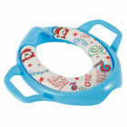 Baby Soft Padded Potty Training Toilet Seat With Handles Toddler Kids Safe