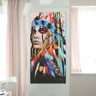 Indian Woman Abstract Canvas Print Art Painting Picture Home Wall Decor CA