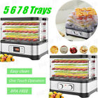 Food Dehydrator Electric Multi Trays fr Meat/Beef/Fruit/Vegetable Dryer Home DIY