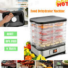 Food Dehydrator Electric Food Dryer Machine 8 Trays fr Meat/Beef/Fruit/Vegetable