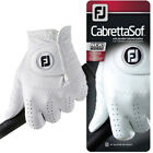 Footjoy Mens Cabretta Sof Leather Golf Glove Right and Left Available