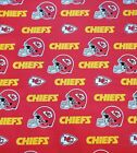 Kansas City Chiefs NFL Licensed Cotton Fabric 60 Inches Wide *Free Shipping* $14.24 USD on eBay