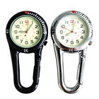 Carabiner Clip on Belt Watches Fob Sports Watch for Doctors Sports Hikers #HF0
