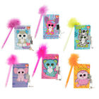 Ty Beanie Boos Mini Locking Diary Pen Party Favors Supplies Journal Notebook
