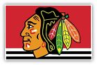 Chicago Blackhawks Vinyl Sticker Decal **SIZES** Cornhole Wall Bumper Truck Car $11.99 USD on eBay