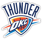 Oklahoma City Thunder Basketball NBA Fan Vinyl Sticker Decal Car Bumper Window on eBay
