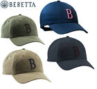 Beretta Big B Green Cap Hunting Shooting Logo Hat Blue or Green BC053 One Size