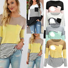 USA Maternity Clothes Breastfeeding Lace T-Shirt nursing Tops For Pregnant Women