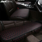 PU Leather Car Seat Cover Car Front Rear Seat Cover Auto Chair Cushion Protector $22.94 CAD on eBay
