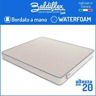 MATERASSO SINGOLO 80x190 POLIURETANO WATERFOAM H 20 CM ORTOPEDICO BASIC