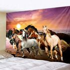 Pentium Horse Print Wall Art Tapestry Polyester Fabric Home Decor Wall Rug