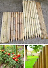SIZES Pointed Fence Stakes Pine Wood Garden Fencing Palisade Wall Gate Screen