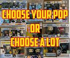 Choose Your Funko Pop or Choose a Lot! Find a Great Deal!