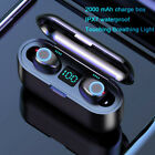 Bluetooth 5.0 Headset TWS Wireless Earphones Mini Earbuds IPX6 Stereo Headphones