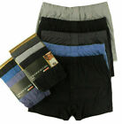 6 Pairs Mens Boxer Plain Underwear Classic Cotton Rich Boxer Shorts S-2XL Jersey