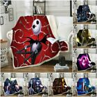 The Nightmare Before Christmas Ultra-Soft Double-layer Plush Sofa Throw Blanket image