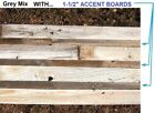 50-Year Old CEDAR Weathered Barn Wood Reclaimed Board Planks & Accents Grey Tone