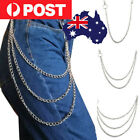 Key Chains Clip Biker Link  Wallet Chain Belt Hip Hop Jewelry Pants KeyChain AU