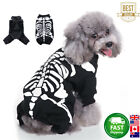Halloween Pet Dog Clothes Costume Horror Skeleton Clothes For Chihuahua Dog&Cat