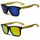 Kyпить NEW UV400 BAMBOO WOOD GLASSES Vintage Fashion Unisex STYLE SUNGLASSES COLOR LENS на еВаy.соm