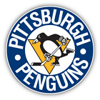 Pittsburgh Penguins Retro NHL Ice Hockey Vinyl Sticker Decal Cornhole Wall Car $16.99 USD on eBay