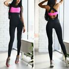 Used, Women Yoga Set Running Bra&Pants Gym Workout Fitness Clothes Compress Sport Wear for sale  Shipping to Nigeria