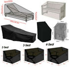 Waterproof Garden Patio Outdoor Chair Bench Seat Lounger Sunbed Furniture Cover