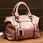 Women Lady Leather Handbag Tote Purse Messenger Cross Body Shoulder Bag Satchel
