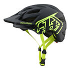 Troy Lee Designs 2019 A1 Drone MTB Helmet No MIPS - Black / Flo Yellow - Bicycle