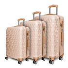 Hard Shell PC+ABS Cabin Suitcase 4 Wheel Travel Luggage Trolley Lightweight Case - Best Reviews Guide