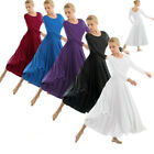 Kyпить US Women Praise Loose Fit Full Length Tango Waltz Dance Dress Liturgical Lyrical на еВаy.соm