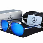 Mercedes AMG Men's UV400 Sunglasses Sports Driving Golf Outdoor Aviator Glasses
