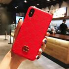 GG Style iPhone Fashion Case Back Cover Gucci Style Leather Luxury cover