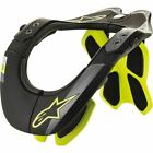 Alpinestars BNS Tech-2 Neck Brace - Blk/Flo Ylw, All Sizes