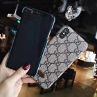 GG Luxury iPhone Case Gucci Style Leather Cover For Apple iPhone 11 pro Max XR
