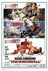 65233 Thunderball Movie Sean Connery laudine Auger Wall Print POSTER UK £12.95 GBP on eBay