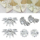 Pearl Wedding Shoe Decorations Shiny Decorative Clips Shoe Clip Charm Buckle
