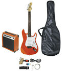 Johnny Brook Standard Electric Guitar & Accessory Starter Kit with Amplifier for sale