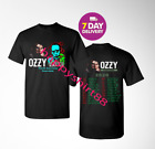 Ozzy Osbourne and Marilyn Manson 2020 North American Tour Dates Black T Shirt. image