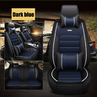 Car Seat Cover Protector+cushion Front & Rear Full Set Pu Leather Interior