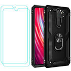For Xiaomi Redmi Note 8 / 8 Pro Shockproof Magnetic Ring Holder Military Case