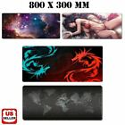 New Extended Gaming Mouse Pad Large Size Desk Keyboard Mat Soft Thick 31x 11.5''