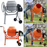 More images of Electric 360-� Cement Mixer Portable Mortar Plaster Concrete Drum with Stand 240V